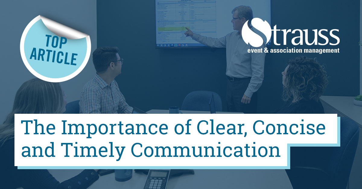 5 The importace of clear concise and timley communication
