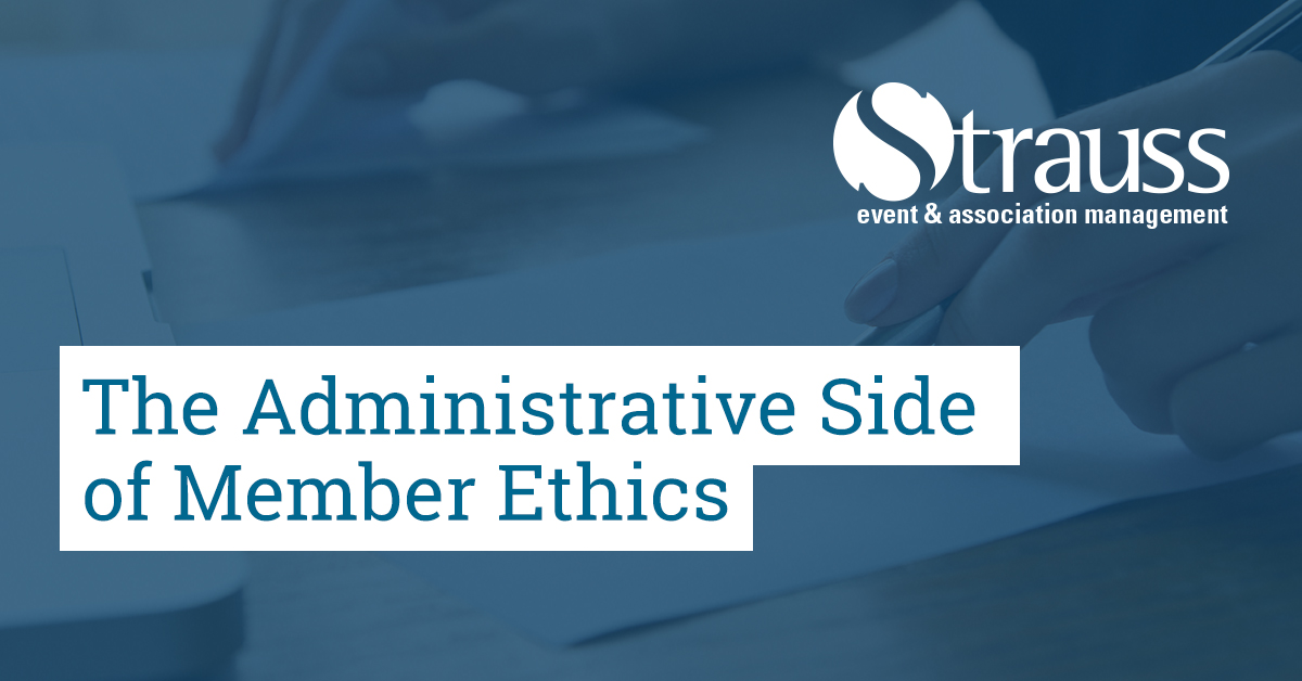 The Administrative Side of Member Ethics FB