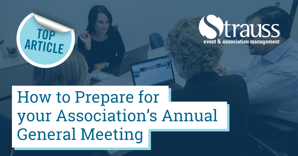 7 How to prepare for your associations annual general meeting