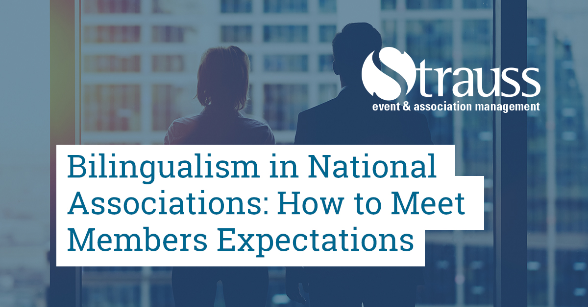 Bilingualism in National Associations How to Meet Members Expectations FB