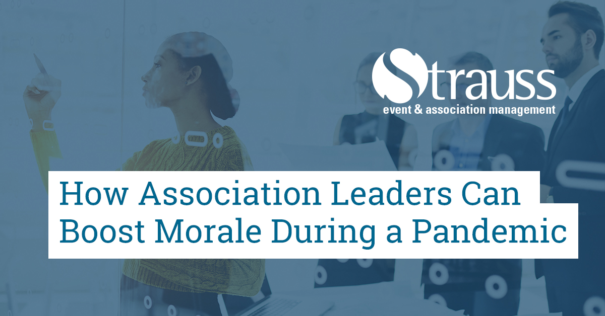 How Association Leaders Can Boost Morale During a Pandemic FB