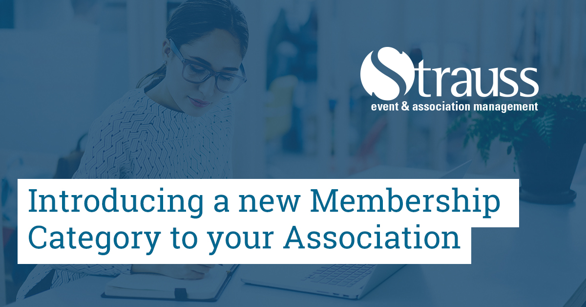 Introducing a new Membership Category to your Association Facebook