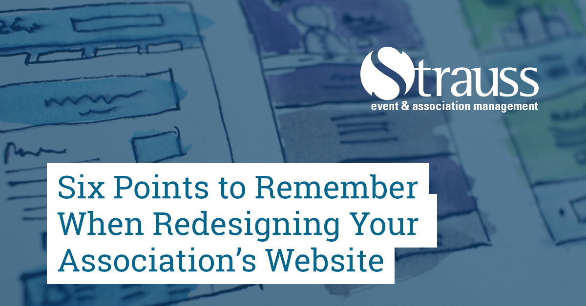 Six Points to Remember When Redesigning Your Associations Website FB
