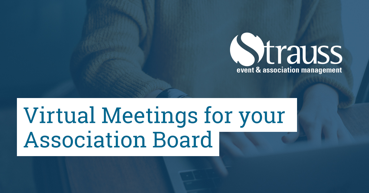Virtual Meetings for your Association Board FB