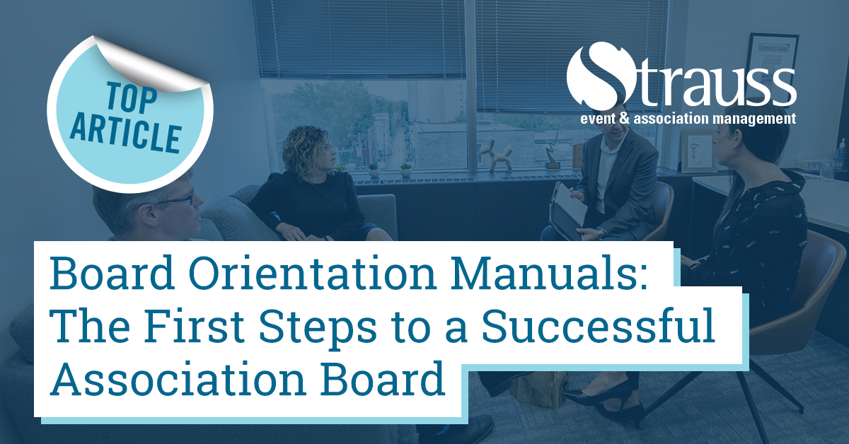 12 Board orientation manuals the first steps to a successful association board