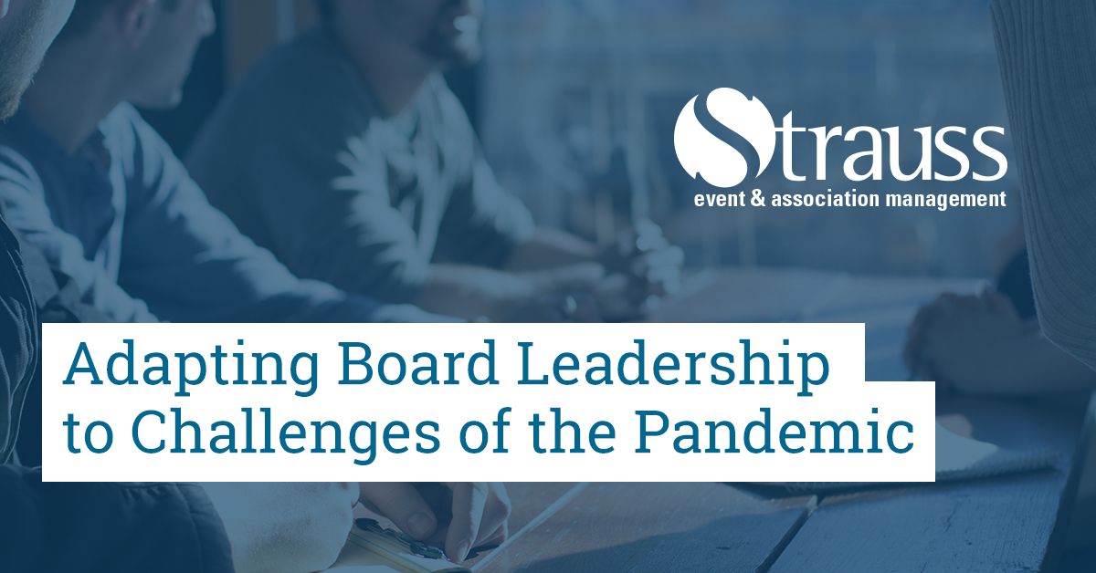 Adapting Board Leadership to Challenges of the Pandemic