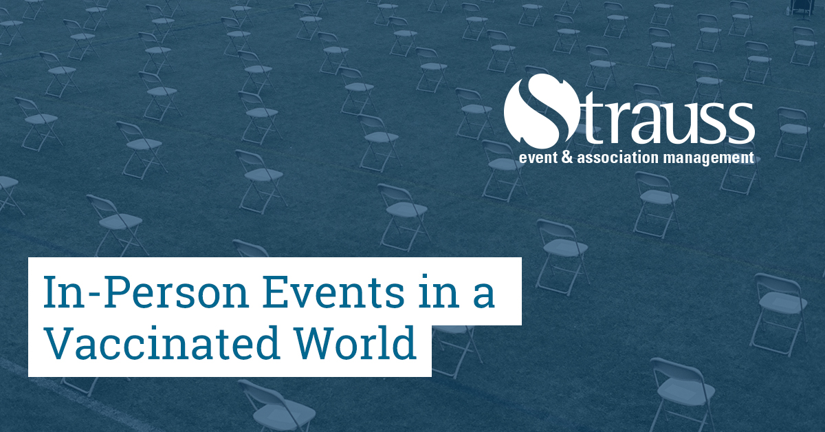 In Person Events in a Vaccinated World